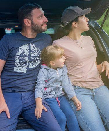 Découvrir l'Italie en voiture avec toute la famille.