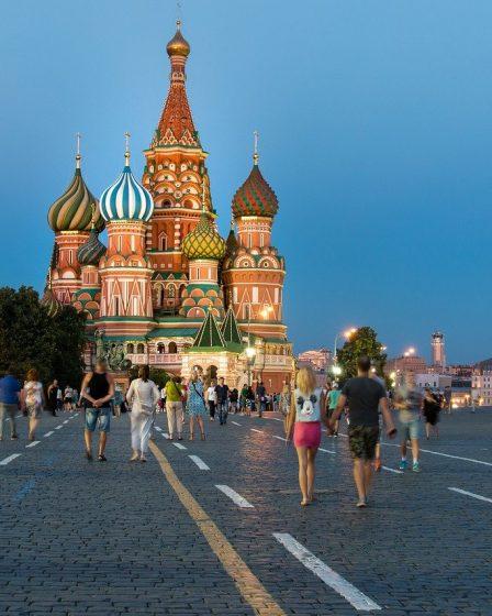 La Russie et ses villes magnifiques